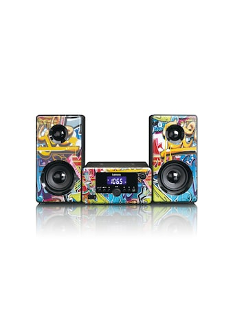 Lenco Microanlage »MC-020 Mehrfarbig«, (Bluetooth FM-Tuner ) kaufen