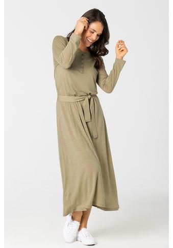 SUPER.NATURAL Sweatkleid »W ANTWERPEN DRESS«, mit Gürtel in passender Farbe, feinster... kaufen