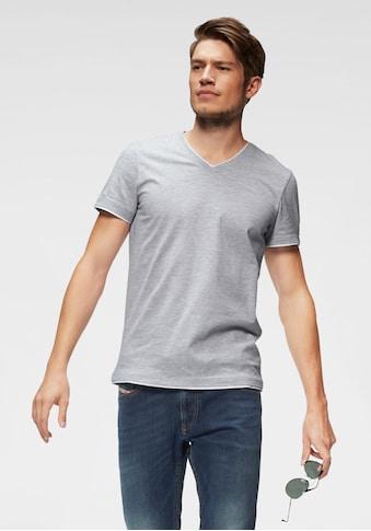 John Devin T-Shirt, mit Layereinsätzen kaufen