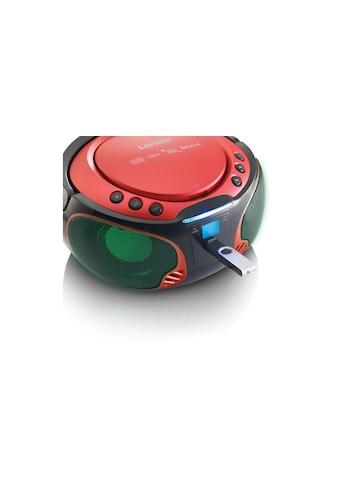 Radio, Lenco, »Portable Radio/CD - Player SCD - 550 Rot« kaufen
