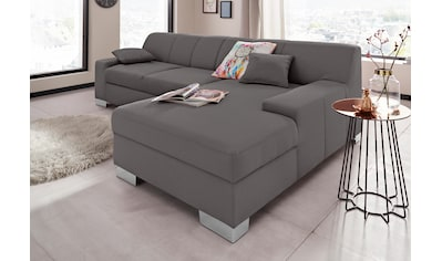DOMO collection Ecksofa »Bero«, wahlweise mit Bettfunktion kaufen