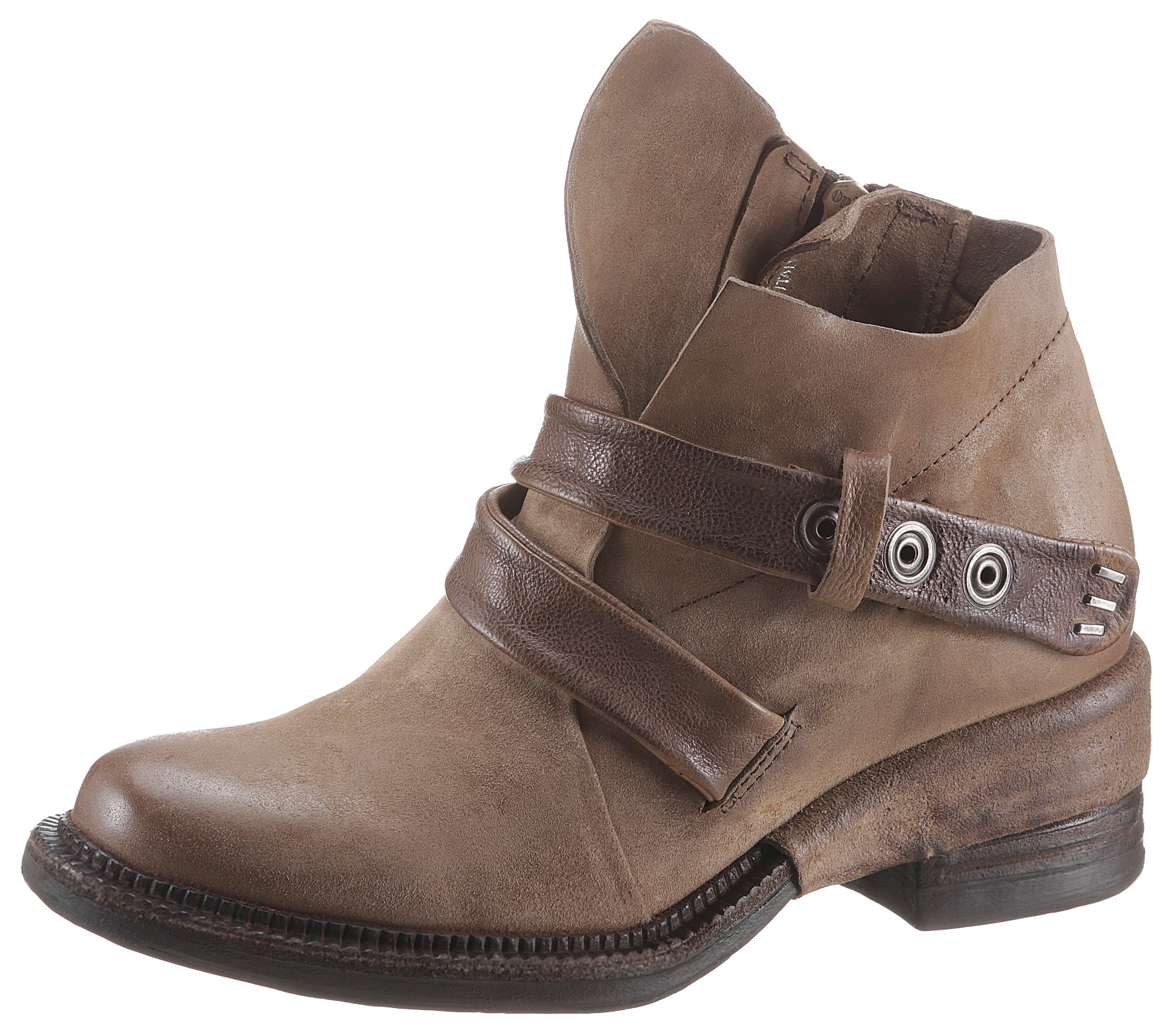 Image of A.S.98 Bikerboots »MIRACLE«, im coolen Used Look