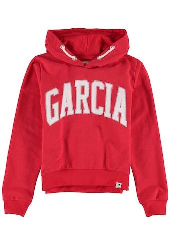 Garcia Kapuzensweatshirt, mit Glitzer-Logodruck kaufen