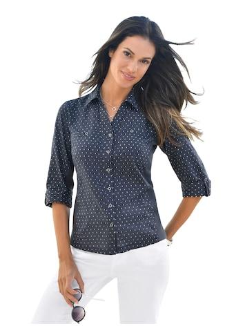 Casual Looks  Bluse mit leicht gerundetem Saumabschluss kaufen