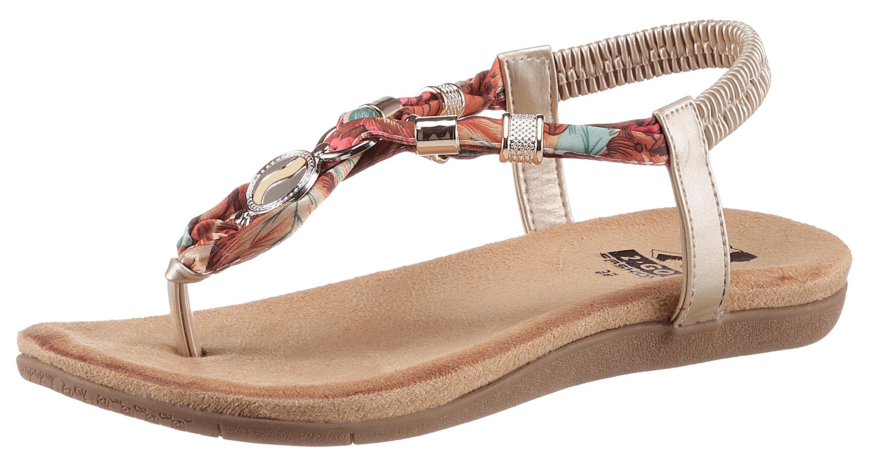 Image of 2GO FASHION Sandale, mit modischen Schmuckapplikationen