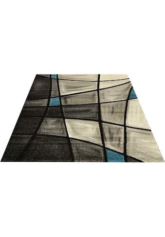 merinos Teppich »DOUBS«, rechteckig, 13 mm Höhe, merinos, handgearbeiteter... kaufen