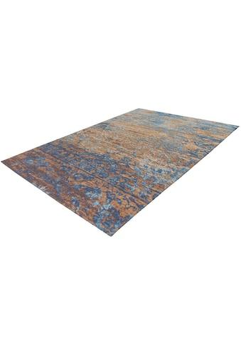 Arte Espina Teppich »Blaze 600«, rechteckig, 8 mm Höhe, Vintage Optik, mit Baumwolle... kaufen
