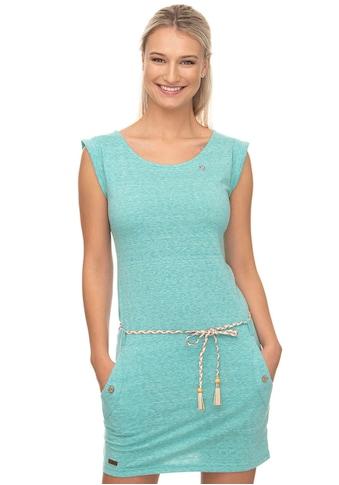 Ragwear Shirtkleid »TAG«, (2 tlg., mit Bindegürtel), mit Melange-Optik kaufen