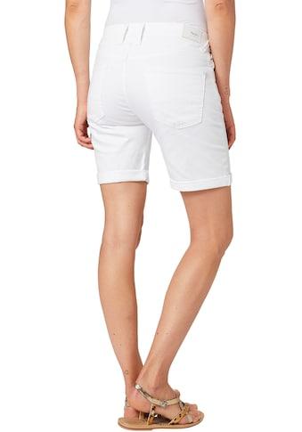 Pepe Jeans Jeansshorts »POPPY«, mit Stretch & krempelbaren Beinen kaufen