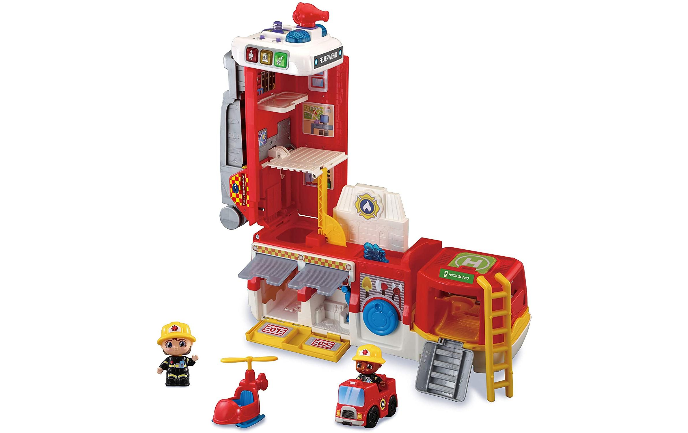 Image of 2 in 1 Feuerwehrstation, VTech