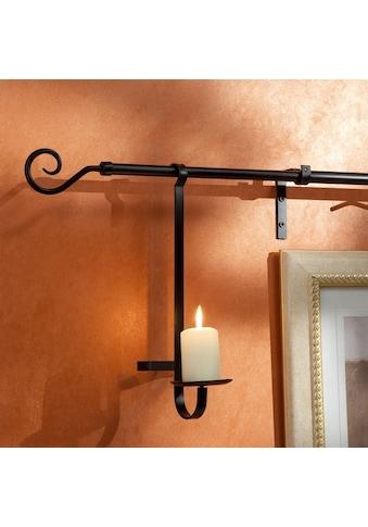 Liedeco Kerzenhalter für Gardinenstangen, für Gardinenstangen Ø 16 mm kaufen