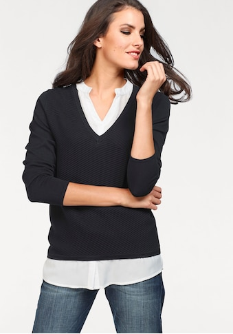 Aniston SELECTED 2 - in - 1 - Pullover kaufen