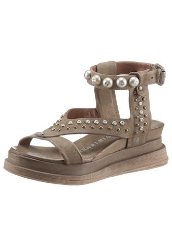 A.S.98 Sandalette »LAGOS 2.0«, mit Nieten besezte Bandagen kaufen