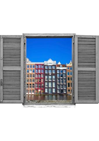 queence Wandtattoo »Häuser« (1 Stück) kaufen