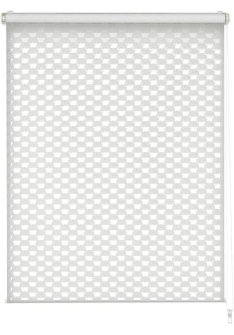 GARDINIA Doppelrollo »EASYFIX Doppelrollo Cut-Out Kreis«, Lichtschutz, ohne Bohren, im Fixmass kaufen