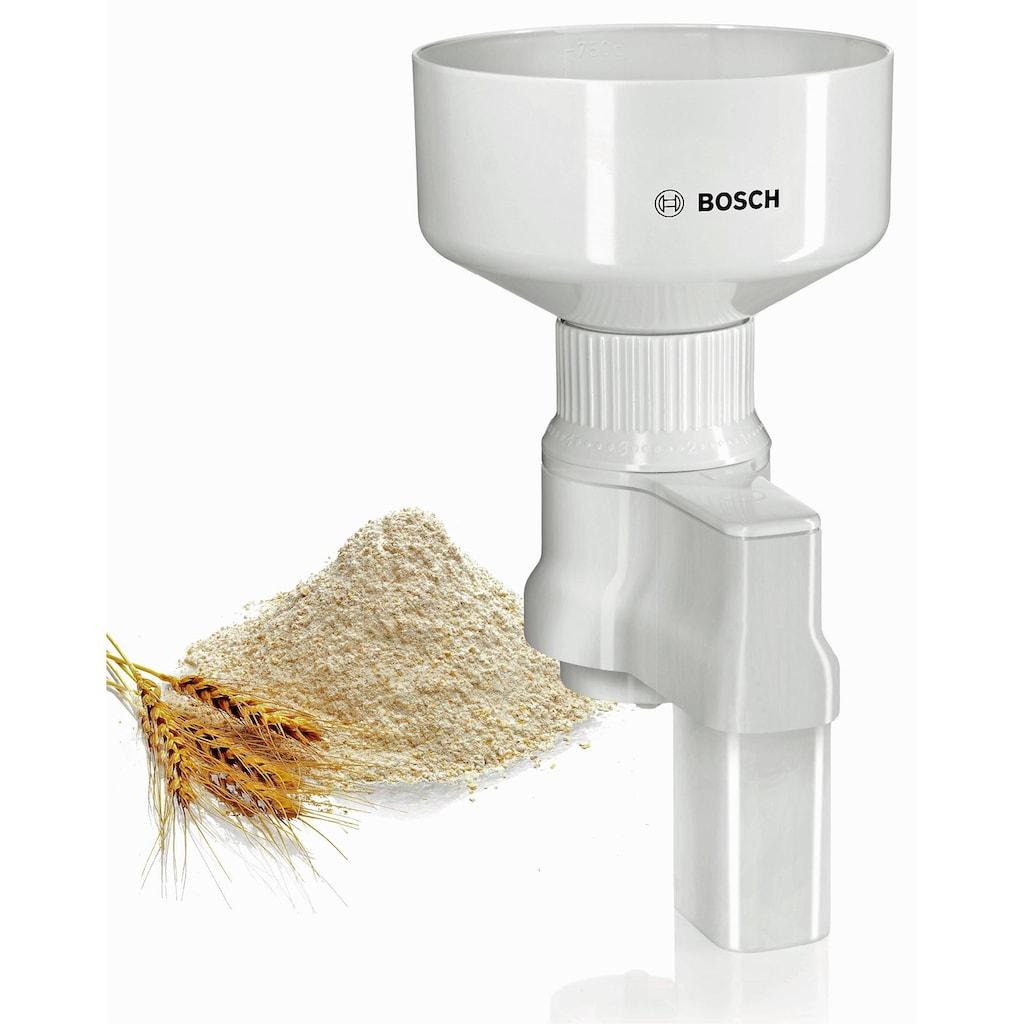 BOSCH Zerkleinerer »MUZ5GM1 Getreidemühle mit Kegelmahlwerk«, für MUM5
